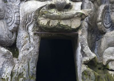 Goa Gajah (Elephant Cave) on Bali island in Indonesia