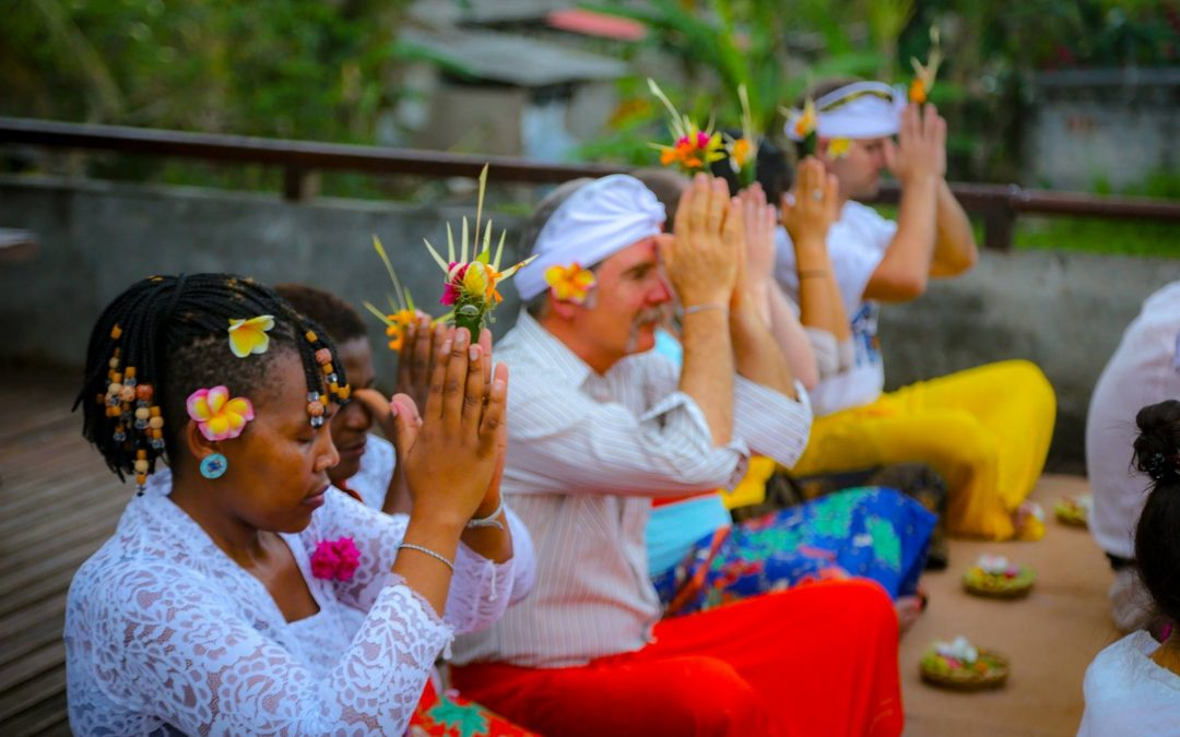 Balinese Blessing Ceremony