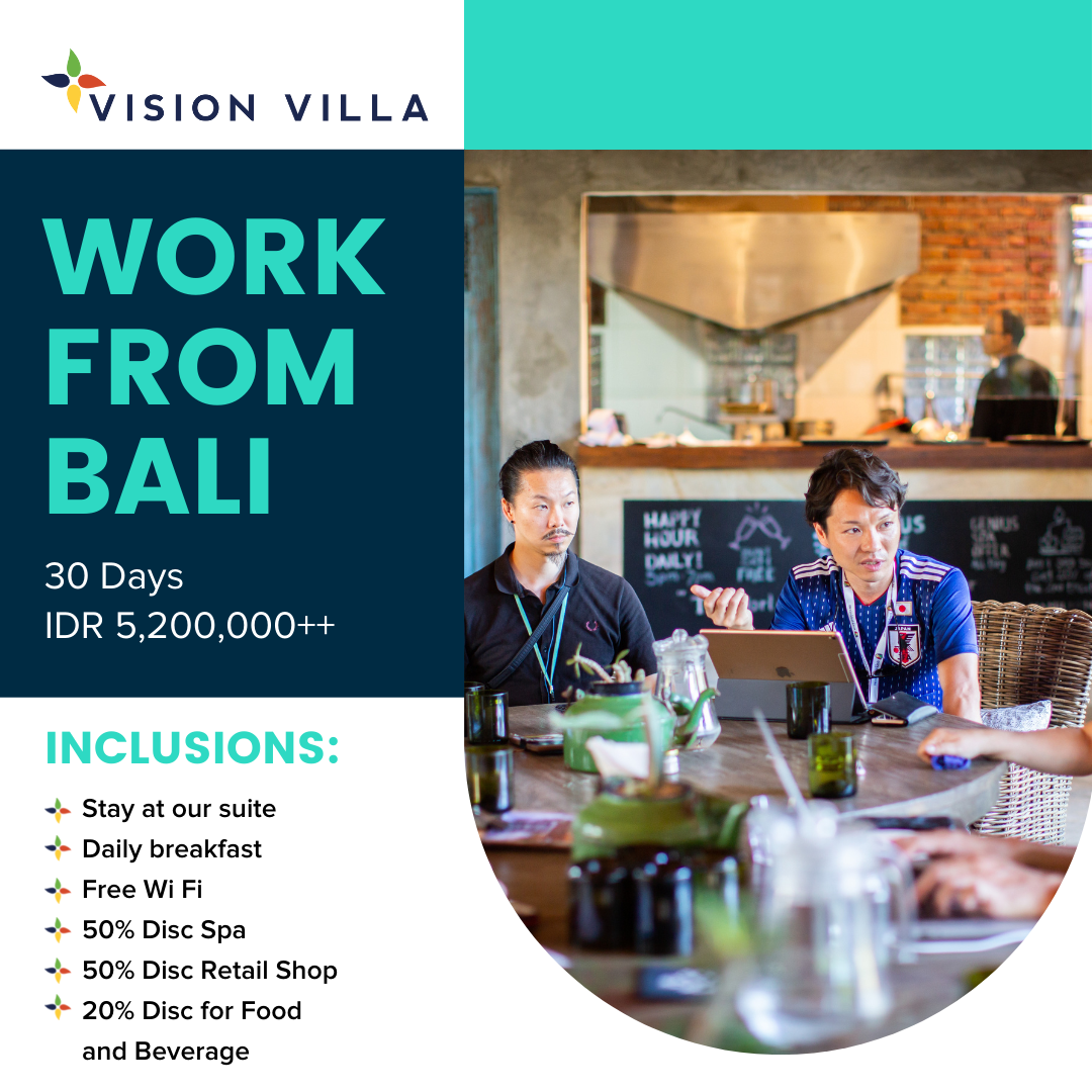 30 Days work from Bali